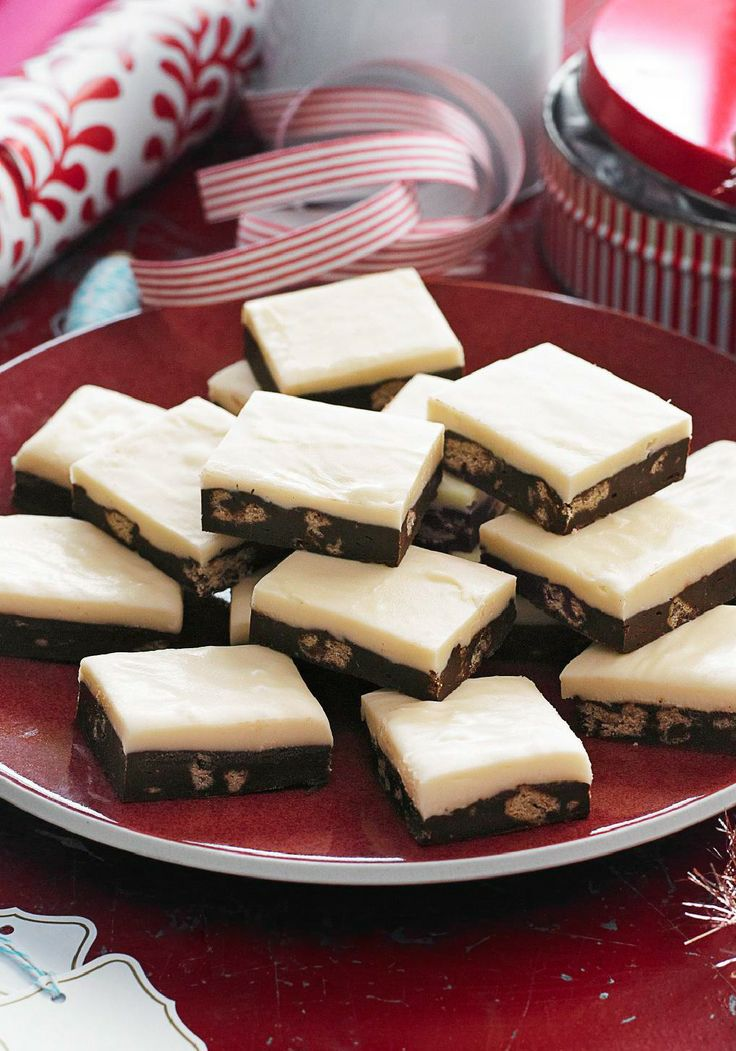 Two-Layer Cookie Crunch Fudge – If you can chop cookies and use a microwave, you have all the know-how required to make this easy but impressive Two-Layer Cookie Crunch Fudge.
