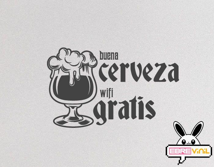 Vinilo Decorativo Cerveza Gratis En 2019 Vinilos Para