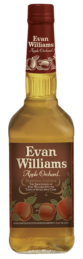 Evan Williams Apple Orchard Liqueur - perfect for hot apple cider (or straight!)