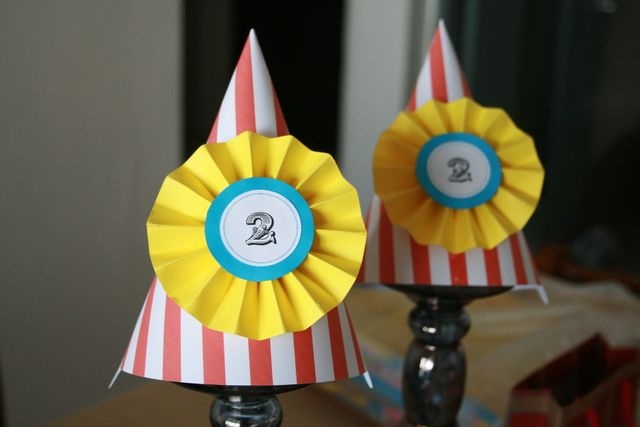 party hats..