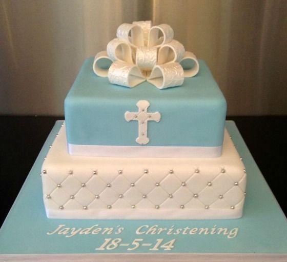 Ideas para decorar tortas de bautizo 10