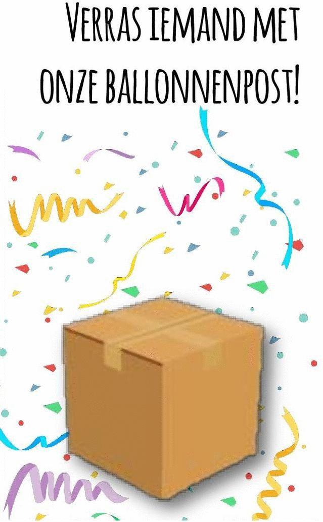 Vindt u het leuk om iemand op zijn of haar feest een helium ballon cadeau te geven? Maak deze verrassing nog bijzonderder door een persoonlijke boodschap toe te voegen aan uw helium ballon.
