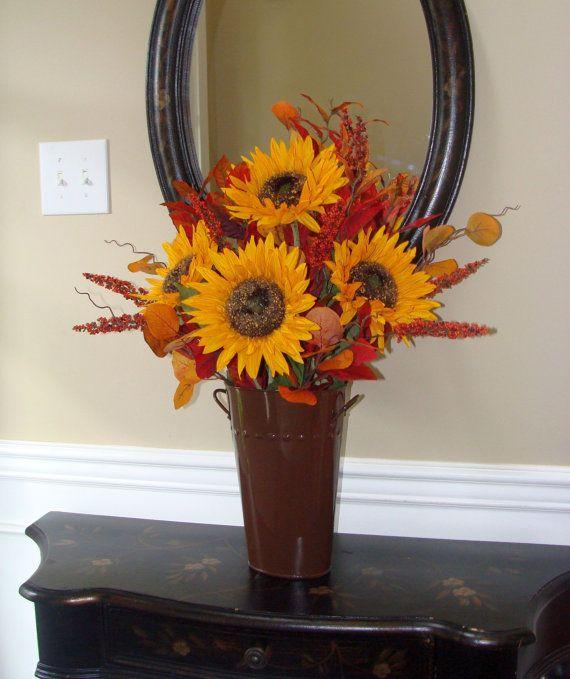 Images about sunflower arrangements on pinterest