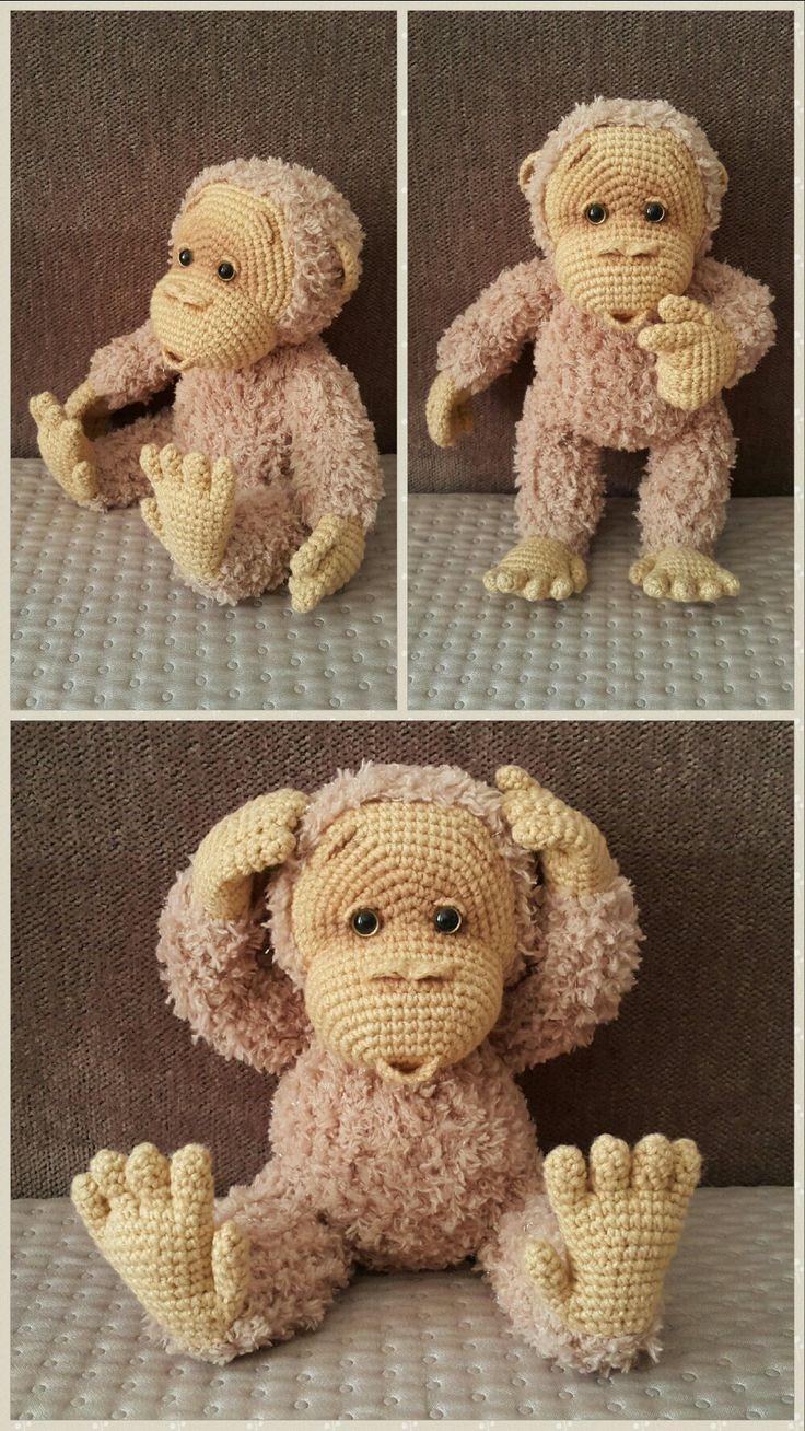 amigurumi crochet baby monkey