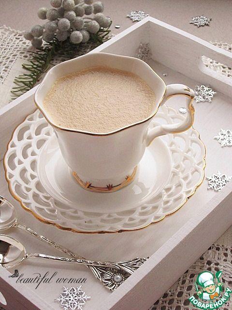 Сырный кофе.