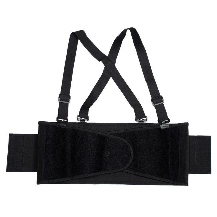 Extra-Large Black Back Support Belt