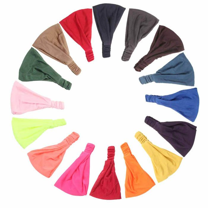 Superior Fashion Woman Hair Accessory Elasticity Wide Ribbon Headband Hair Band Bandanas June12-in Hair Accessories from Women's Clothing & Accessories on Aliexpress.com | Alibaba Group
