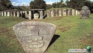 El parque arqueológico de San Agustín - Colombia
