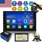 """Android 5.1 Double 2 Din 7"""" Car Stereo GPS Radio MP5 Player Nav 3G Wifi Camera"""
