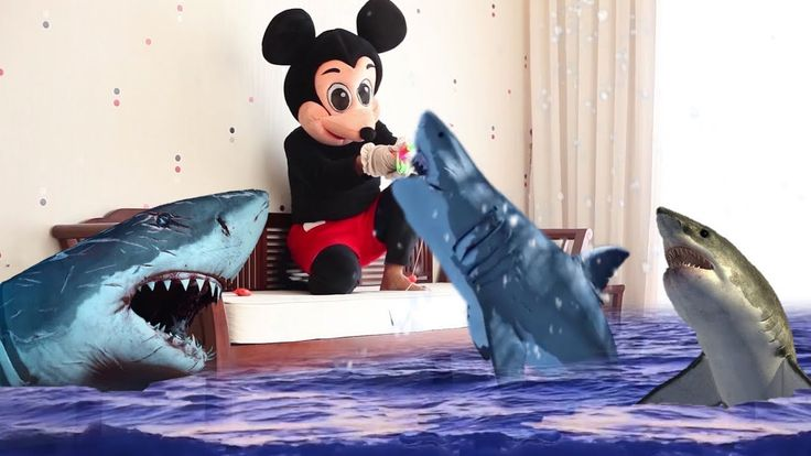 Mickey Mouse & Minnie Mouse New Episodes! Super Shark Hunter! Minnie Mou...