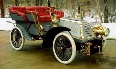 1902 Westfield Rear Entrance Tonneau - Westfields were built in Westfield, Massachusetts by the C.G. Moore Manufacturing Co from 1901-1903.