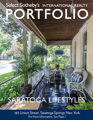 Select Sotheby's International Realty Saratoga Lifestyles Portfolio 2014