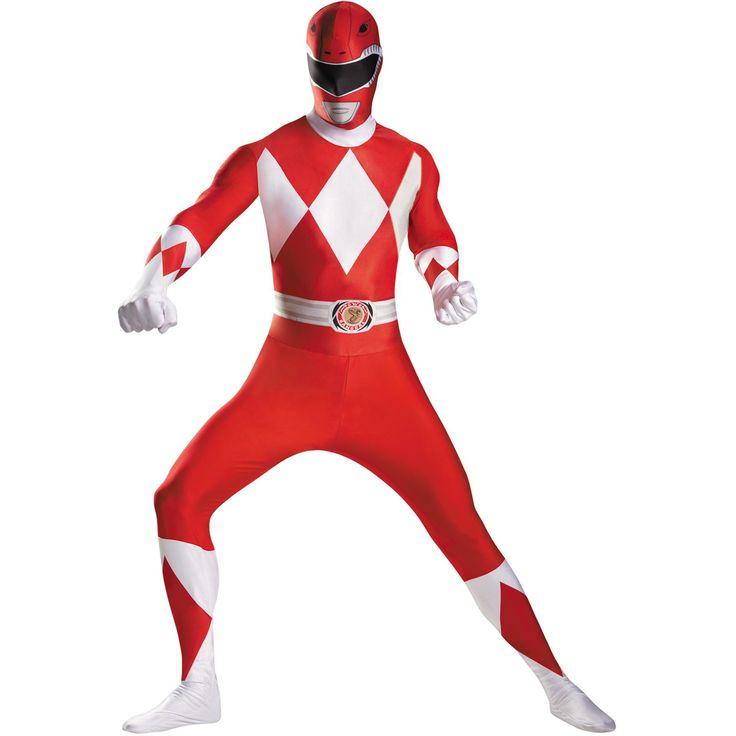 Red Ranger Bodysuit Costume 50