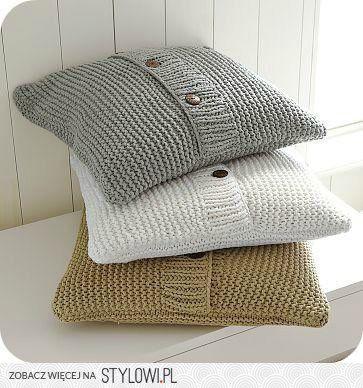 Sweater Pillow DIY or gift idea/inspiration  (not a tutorial)