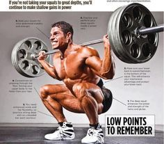How to squat - another description. You can never have enough on how to squat correctly.