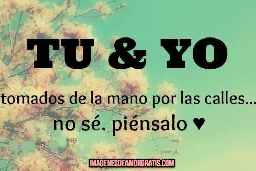 TU Y YO on Pinterest   Tu Y Yo, Solo Tu and No Se