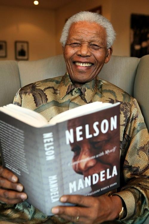 Nelson Mandela-He's so strong!