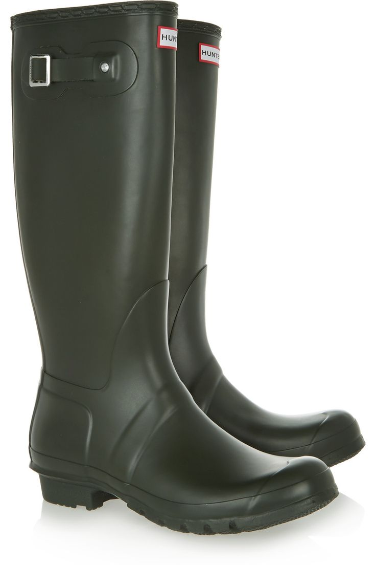 Shop on-sale Hunter Original Tall Wellington rubber rain boots. Browse other discount designer Boots & more on The Most Fashionable Fashion Outlet, THE OUTNET.COM