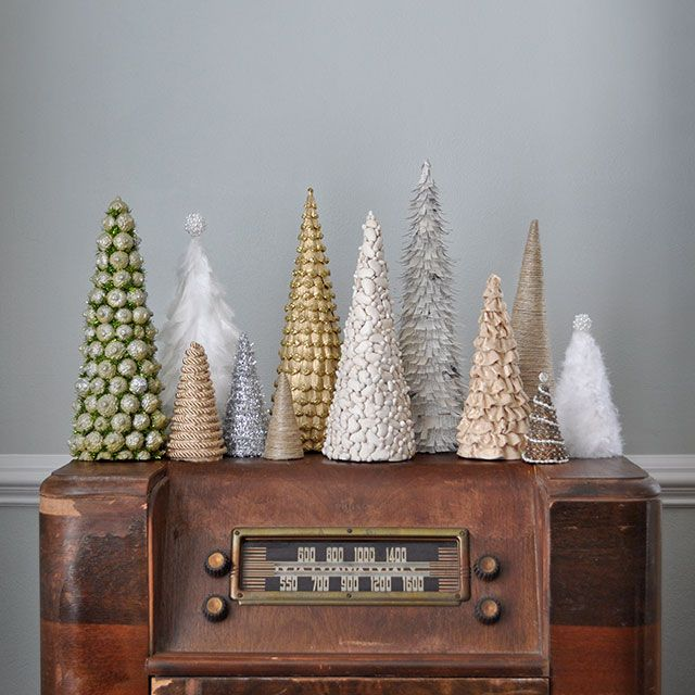 Handmade #Christmas Trees