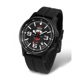 Reloj Hombre 47mm Vostok Polo Norte con Correa de Gel Negro Antialérgica, para personas que les gusta lucir su reloj en todo momento  http://www.tutunca.es/reloj-hombre-47mm-vostok-polo-norte-correa-gel-negro