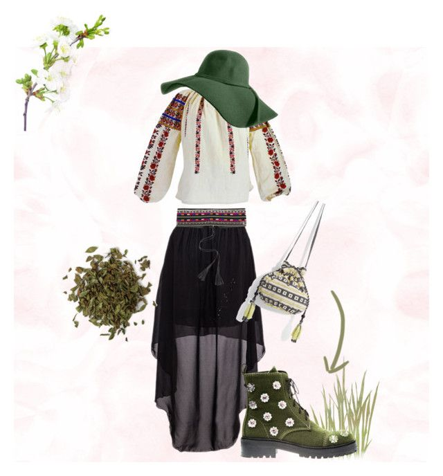 Green-age by tinaradu on Polyvore featuring Anouki, MANGO and Isabel Marant