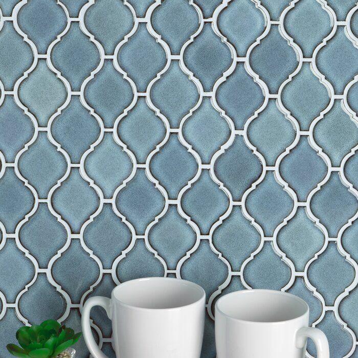 Arabesque Glass Mosaic Tile Sample Combo Pack Neutrals