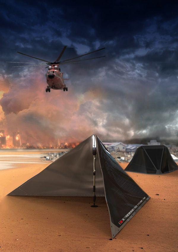V Plus Emergency Relief Tent by Li Bowen, Zhou Zhijun, Jia Chenxi, Yuan Pengfei, Zhou Yang, Gao Lu, Chaokai Jen, Cao Ming, Wang Xinyu, Pan Qihang, Wang Yuli