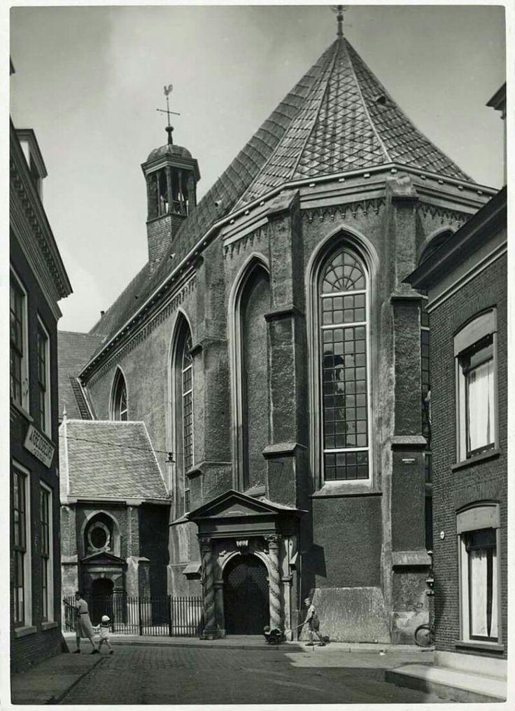 grote- of Jacobijner kerk Leeuwarden,  jaren dertig