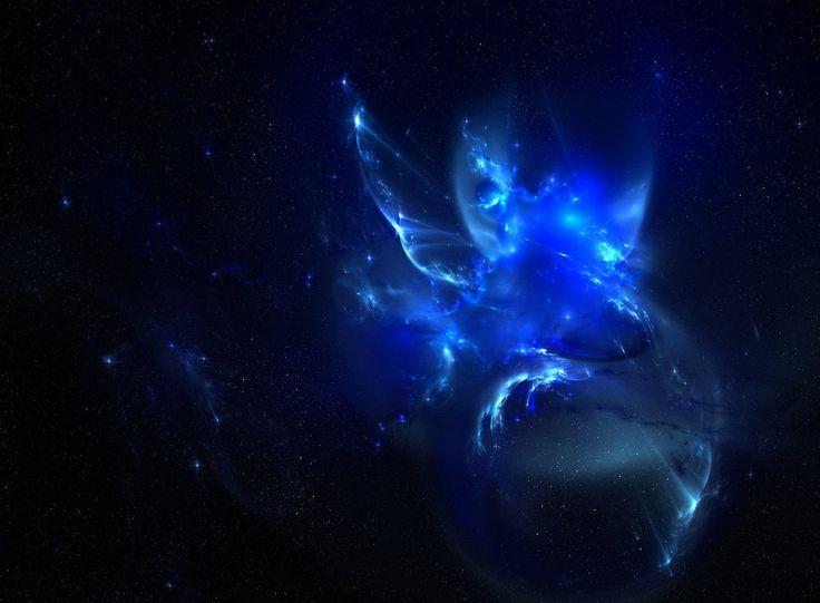 Blue Nebula - Pics about space