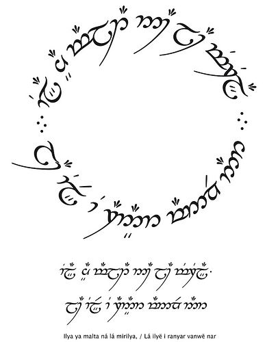 Not All Who Wander Are Lost Elvish Circle Google Search