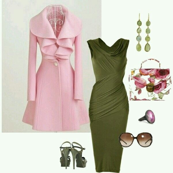 Green / Pink