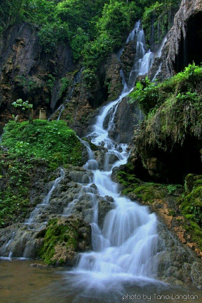 Waterfall at Tumpak Sewu