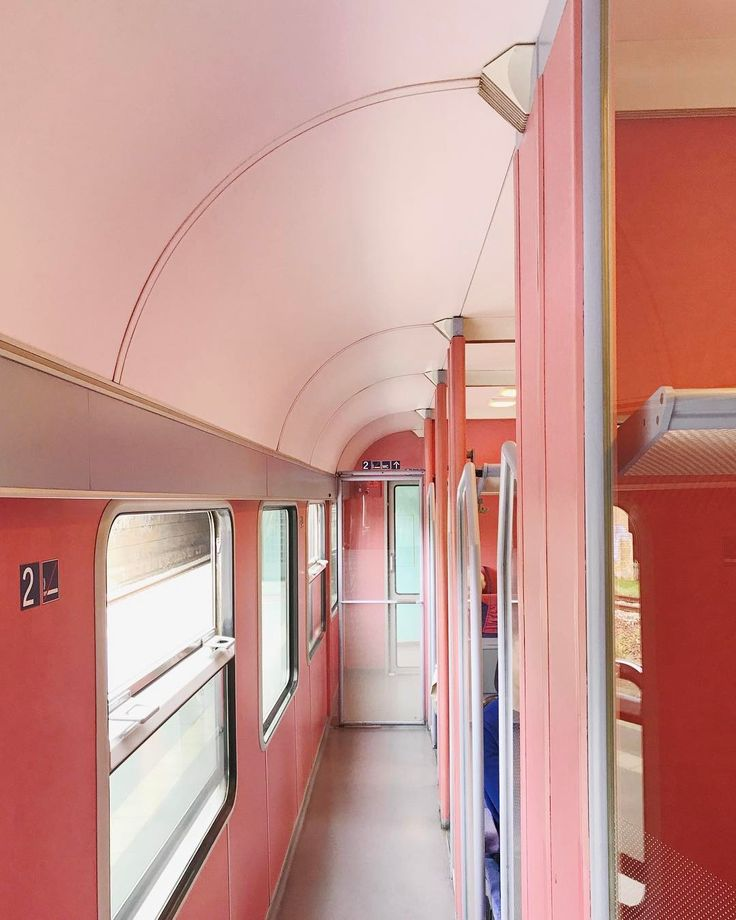 just having a little #wesanderson moment on the train today. felt like 1987 in the best way possible