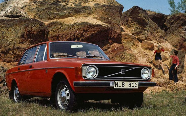 A Volvo 144 from 1973.