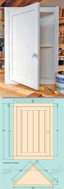 Bathroom Corner Cabinet Plans  Furniture Plans And Projects   Woodarchivist