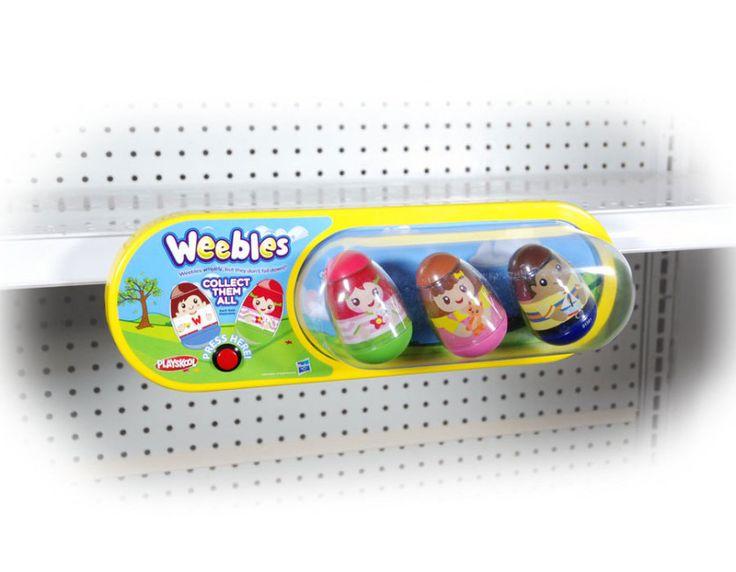 Weebles Interactive Shelf Talker