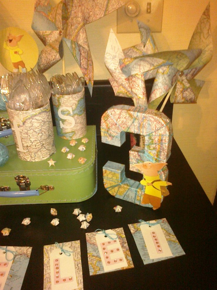 1000 images about birthday ideas on pinterest around the worlds baby shower themes and streamers - Th party theme ideas ...