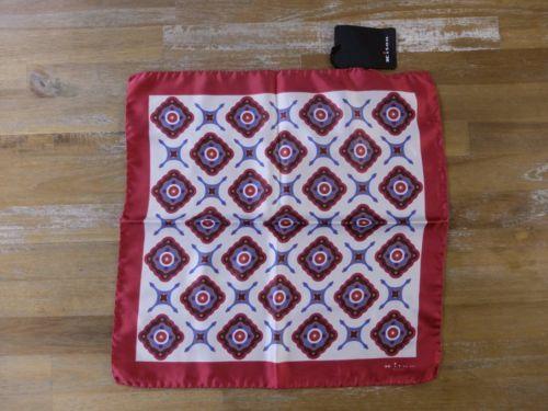 auth KITON Napoli silk pocket square handkerchief - NWOT