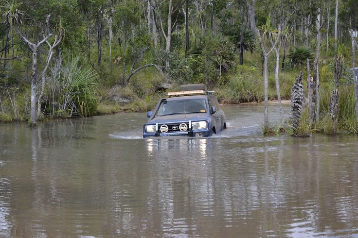 Just another river crossing - Cape York!!