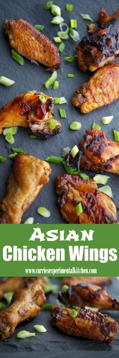 Sweet & sticky Asian marinated chicken wings are delicious and are perfect for weeknight meals, large parties or game day snacking.