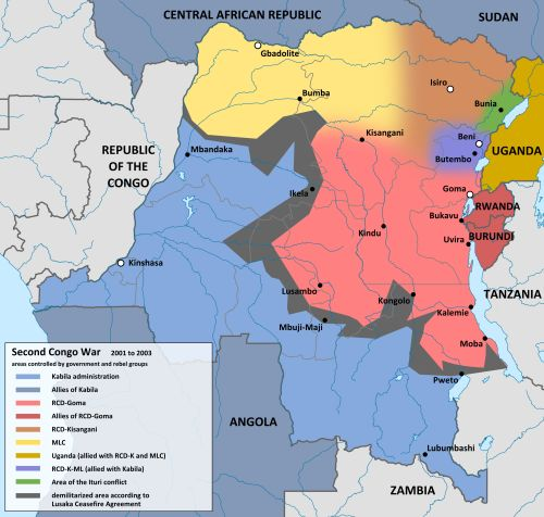 - The Second Congo War 2001-2003.By 2008 the war and its...