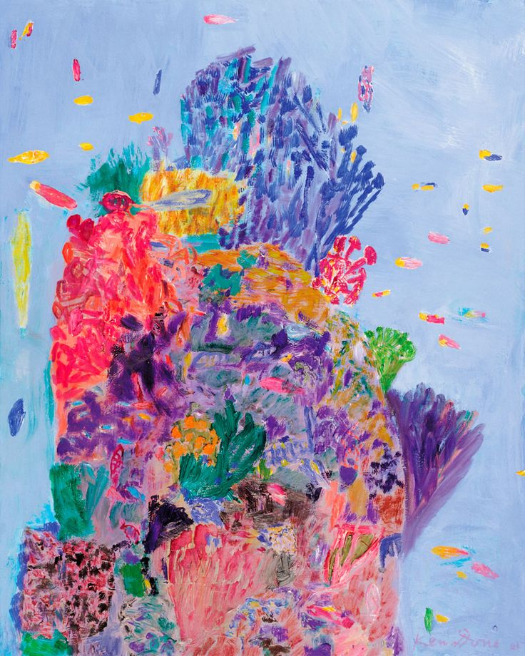 """Ken Done """"Coral head IV"""", 2005 Limited Edition Print"""