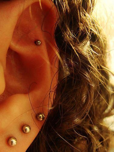 How To Pierce Your Ears At Home Via Wikihowcom Topearpiercing