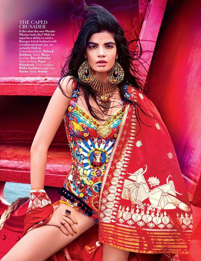 Бхумика Арора в Vogue India (Интернет-журнал ETODAY)