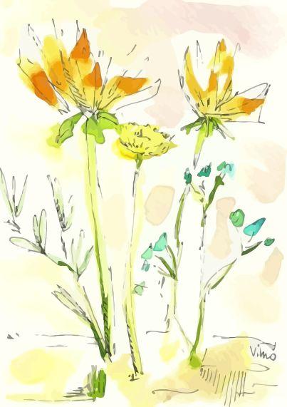 Aquarell flower