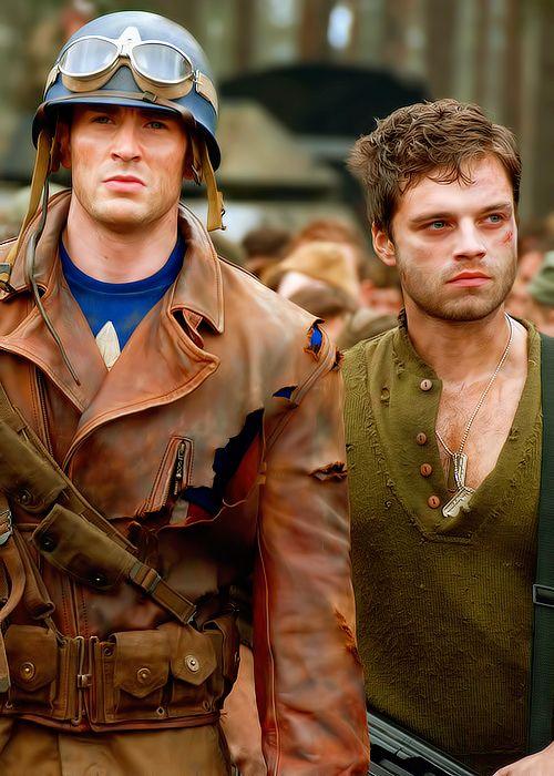Steve and Bucky!!!