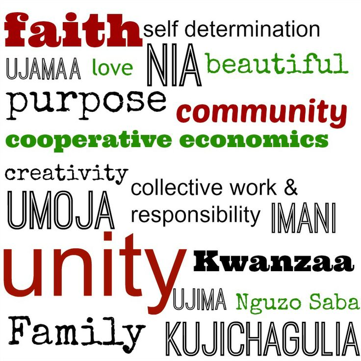 #Kwanzaa Printable