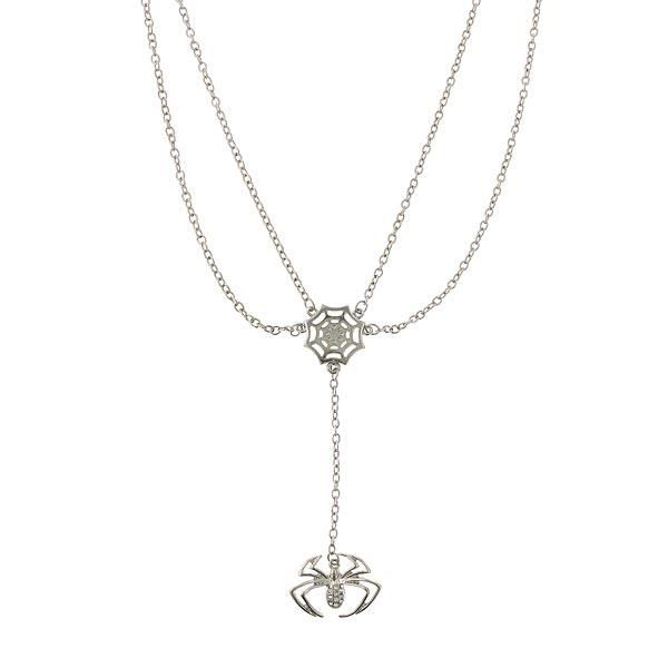 I want! Spiderman Spider Drop Necklace (there's some other really cool Marvel jewelry too)