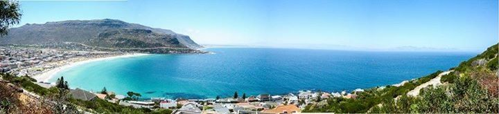 A view of Fish hoek from the shark lookout point. Photo thanks to Christopher Scott via Come to Cape Town.com