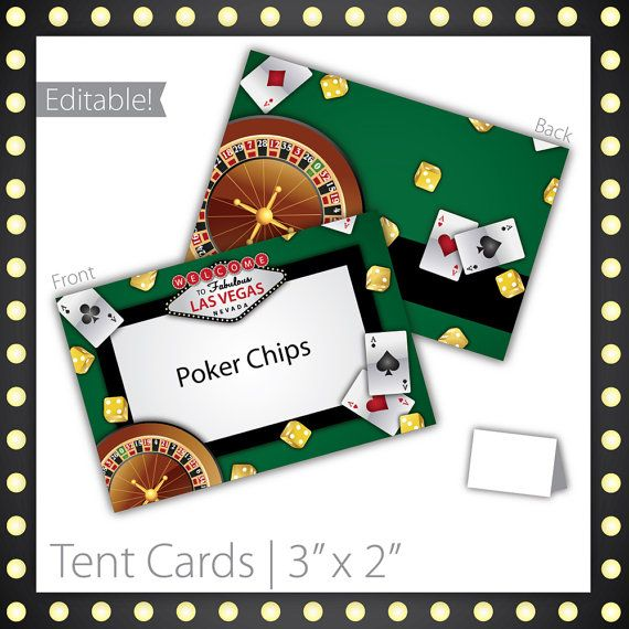 """Casino Party Tent Cards : Blank . PRINTABLE . INSTANT DOWNLOAD . Lucky Draw ~ $6.00 ~ Size 3""""w x 2""""h ~ casino tent cards, printable casino tent cards, printable tent cards, casino tent sign, casino party sign, casino party signage, casino theme, casino food labels, las vegas casino, roulette, tent cards, las vegas theme party, casino theme, casino name sign, casino name tent cards, las vegas casino tent cards ~ #casinotentcard #casinocard #casinoparty ~ https://www.etsy.com/listing/96533216"""